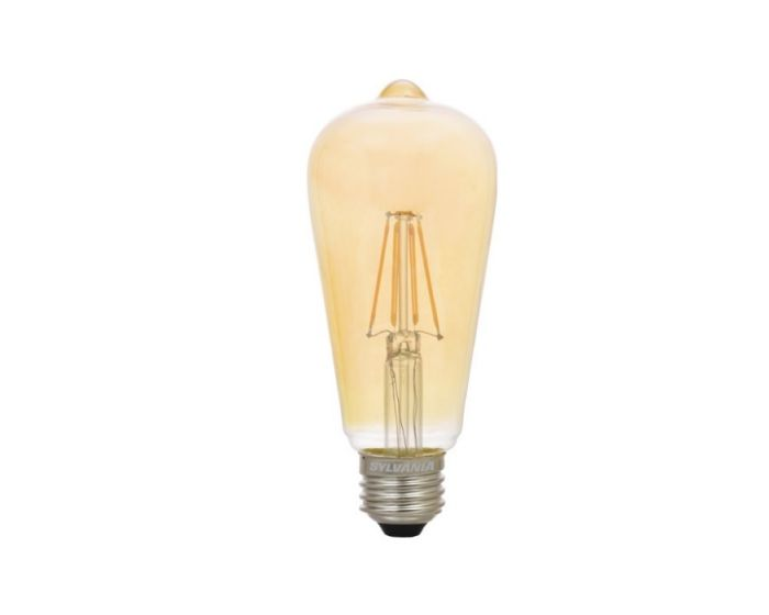 Sylvania 75353 Led6 5st19dim822vinrp 6 5 Watt Led St19 Vintage Lamp E26 Base Dimmable 2175k Replaces 60w Incandescent