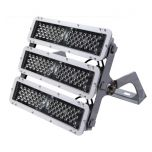 Maxlite ELLF5404M50 StaxMAX 540 Watt LED High Output Medium Beam Flood Light Fixture with Arch Yoke Bracket 347-480V 5000K