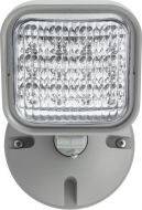 Lithonia Lighting ERE GY SGL WP M12 Weatherproof Gray Single Adjustable Remote LED Lamp Head