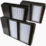 Image 2 Paclights F2SB200 200 Watt LED Area Light Fixture DLC Listed 5000K 100-277V