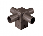 Product Image CREE PD-4A4 90 Degree Quad PD Tenon Square Pole Horizontal Internal Mount