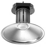 Snowball SB-HB/G+/200W DLC Qualified 200 Watt LED Indoor High Bay Light Fixture Dimmable with Top Mounted Metal Loop