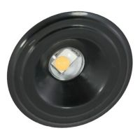 American Lighting 024-000 1.25 Watt Undercabinet LED Bullet Puck Accent Light Dimmable 3000K - Black