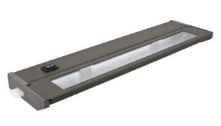 American Lighting 043X-1 20 Watt PRIORI Xenon LED Under Cabinet Light Fixture 120V Dimmable 2700K - Bronze