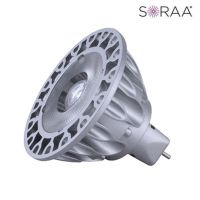 Product Bulbrite 777082 SM16-09-25D-830-03 LED MR16 GU5.3 12V 9 Watt 3000K SORAA V3 Brilliant Narrow Flood