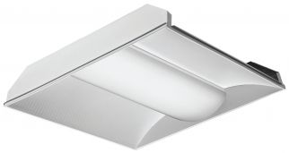 Main Image Lithonia Lighting 2VTL2  2X2 VT Series 41 Watt Volumetric LED Troffer Fixture 4000 Lumens (Pallet Discount Available)