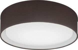 Brown Lithonia Lighting FMABFL-16 24 Watt Aberdale 16 Inch LED Dimmable Flush Mount Fixture