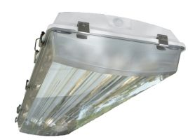 AEI Lighting T8VT4X Vaportight High Bay T8 Industrial Damp Location Warehouse Lighting Fixture
