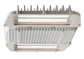 Main Image GE Lighting AHH1 Series 125 Watt 2 Module Single Fixture Standard Output Hazardous Location High Low Bay Light 120-277V 4000K