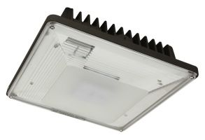 Maxlite CPL40AUC50B 40 Watt LED Low Profile Canopy Light Fixture Canopy Distribution 120-277V 5000K