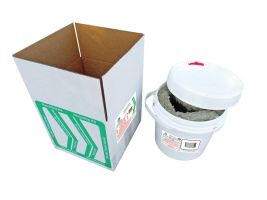 Dry Cell Battery (0.5 Gallon) Recycle Kit