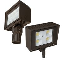 Energetic Lighting E1AFL100 LED Architectural Flood Light 5000K with Optional Photocell