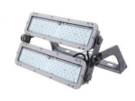 Maxlite ELLF360DW50H StaxMAX 360W High Output LED Wide Beam Flood Light with Highbay Bracket Dimmable 5000K