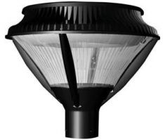 ATG Electronics PT71-81-50-C-B 81 Watt Arbor Crest Compact Post Top Enclosed Area Light Fixture
