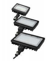 Paclights FFLA Series DLC Qualified Outdoor Broad Beamed LED Area Light Fixtures 120-277V