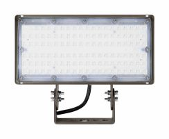 Arcadia Lighting FLCX-100W DLC Listed 100 Watts Flood Light 120-277V Dimmable