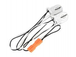 Maxlite G13KIT2 2-Lamp Wiring Harness for LED T8 Single End Powered Ballast Bypass Lamps