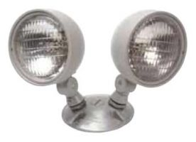 Mule Lighting GWP-2 9 Watt Double PAR36 Frog Eye Heads for Emergency Light