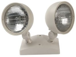 Mule Lighting H-2 9 Watt Double Remote Frog Eye Heads for Emergency Lights