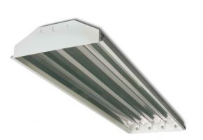 Howard Lighting HFA2A432ASEMV000000I HFA2 Series 32W 32 Watt High Bay Fluorescent T8 4 Lamp Standard BF Instant Start Ballast High Efficiency Multi-Volt