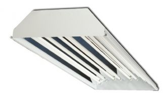 Howard Lighting HFC1E854APSMV000000I HFC1 54W 54 Watt 8 Lamp T5 High Bay Fluorescent Enhanced Specular (95%) Program Start Ballast Multi-Volt
