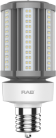 RAB Lighting HID-36-EX39 36 Watt Ballast Bypass Post Top Lamp 100-277V - Replaces 150W MH