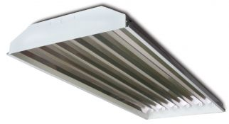 Howard Lighting HFC1A8LT8 4 Foot Highbay LED Ready with Eight Lamp Positions - Lamps Not Included