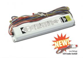 Howard Lighting BAL1400 2 Lamp Fluorescent Emergency Ballast 1100-1400 Lumen