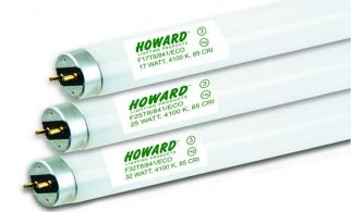 Howard Lighting F17T8/835 17W 17 Watt T8 Linear Fluorescent Lamp 835 3500K