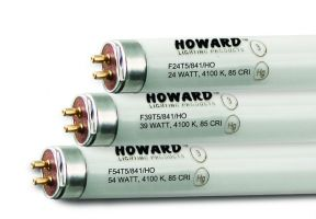 Howard Lighting F28T5/841 28W 28 Watt T5 Linear Fluorescent Lamp 841 4100K