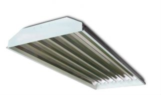 Howard Lighting HFA1E654APSMV00D060I HFA1 Series 54W 54 Watt High Bay Fluorescent  T5 6 Lamp Program Start Ballast