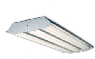 Howard Lighting HFA3E654APSMV000000I HFA3 Series 6 Lamp T5HO Linear Fluorescent High Bay Lighting Fixture
