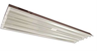 Howard Lighting HFLPA654APSMV000000I HFLP 54W 54 Watt High Bay Fluorescent T5HO 6 Lamp Program Rapid Start Ballast Multi-Volt