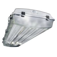 Howard Lighting VHA1A6LT8 4-Foot 6-Lamps LED Ready Vaporproof Fluorescent Highbay Housing Fixture