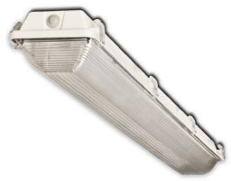 Howard Lighting VSA4A232ASEMV000000I VSA4 2 Lamp T8 Fluorescent Enclosed Vapor Dust Water Proof Tight Strip Light Fixture NSF IP67