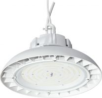 NaturaLED LED-FX11HBR90/110/850/1P65 DLC Premium Listed 90 Watt LED High Bay Round Fixture 100-277V 5000K - 250-400W Equivalent