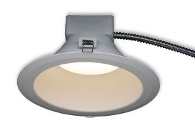 GE Lighting LRX Series 4 Inch Round LED Dimmable Retrofit Downlight Fixture with Selectable Lumen Package