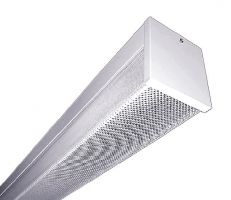 LSI Industries W44 LED SS UE Wall-Ceiling Mount Light Fixture