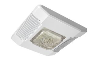 CREE CPY250-A-DM-D-B-UL-WH 122 Watt 122W LED Canopy Light Fixture Direct Mount Drop Lens 5700K Image