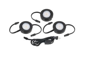 American Lighting MVP-3 4.3 Watt MVP Swivel LED 3-Puck Light Kit 120V Dimmable