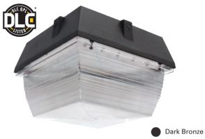 Image NaturaLED LED-FXCCM40/40K/DB 40 Watt Canopy Fixture DLC Listed 120-277V 4000K