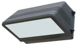 Image NaturaLED LED-FXCWP40/50K/DB 7097 40 Watt Cutoff Wall Pack Fixture 100W HID Equivalent DLC Listed 5000K