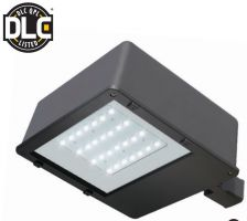 Product Image NaturaLED LED-FXSB110/3S/40K/DB 110 Watt Shoebox Area Light Fixture Dimmable DLC Listed 4000K