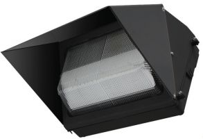 Image NaturaLED LED-FXTWP60/50K/DB 7089 60 Watt Wall Pack Fixture DLC Listed 5000K
