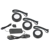 American Lighting OMNI-3KIT 3.2 Watt Omni LED 3-Puck Kit 12V 2700K Dimmable