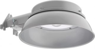 Main Image Lithonia Lighting OVAL LED 40K 120 PE DNA M4 20 Watt Dusk to Dawn Integrated Outdoor LED Area Light Fixture 120V 4000K