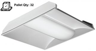 Applications Lithonia Lighting 2VTL2  2X2 VT Series 41 Watt Volumetric LED Troffer Light Fixture 4000 Lumens 3500K