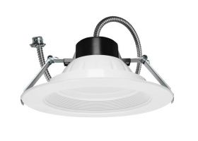 Maxlite RCF822CSW Universal Downlight Fixture 8IN 22W Color Selectable 3000K/3500K/4000K 42W CFL Equivalent