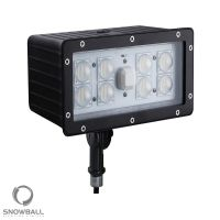 Knuckle Mount - Snowball Lighting SBF-M70W DLC Qualified 70 Watt LED Flood Light Fixture with High Transmittance Anti-Impact Cover