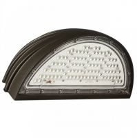 Snowball SB-WPT0727 DLC Qualified 70 Watt LED Half Moon Wall Pack Up/Down Light Fixture 100-277V